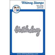 Whimsy Stamps DIE - Birthday