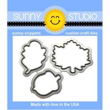 Sunny Studio Stamps - DIES / Beautiful Autumn