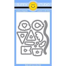 Sunny Studio Stamps - DIES / Birthday Smiles