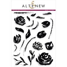 Altenew Clear Stamp Set - Brush Art Floral