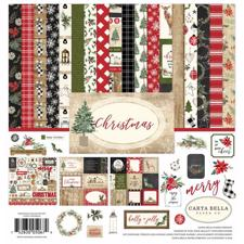 Carta Bella Scrapbook Paper Collection Kit - Christmas