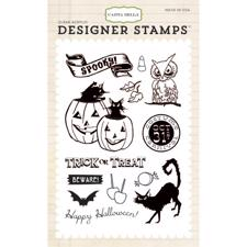 Carta Bella STAMP Set - Trick Or Treat