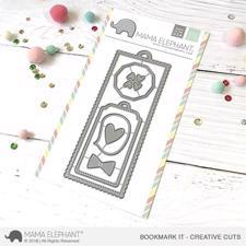 Mama Elephant Creative Cuts - Bookmark It (dies)