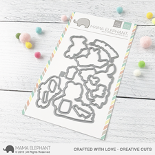 Mama Elephant Creative Cuts - Crafted With Love (dies)
