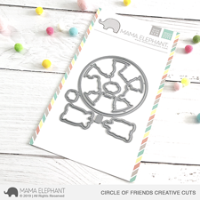 Mama Elephant Creative Cuts - Circle of Friends (dies)