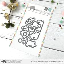 Mama Elephant Creative Cuts - Dandelion Wishes (dies)