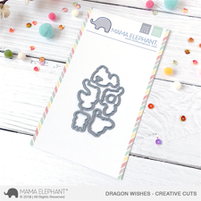 Mama Elephant Creative Cuts - Dragon Wishes (dies)