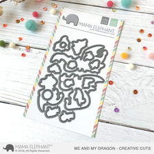 Mama Elephant Creative Cuts - Me and My Dragon (dies)