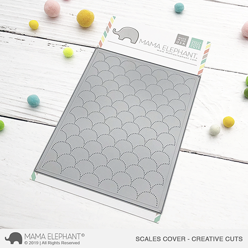 Mama Elephant Creative Cuts - Scales Cover (dies)