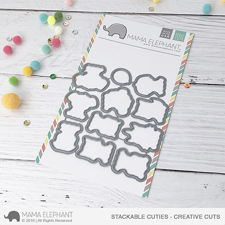 Mama Elephant Creative Cuts - Stackable Cuties (dies)