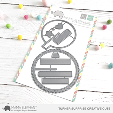Mama Elephant Creative Cuts - Turner Surprise (dies)