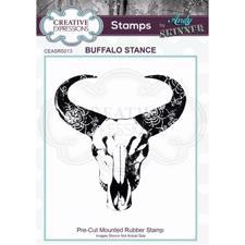 Creative Expressions Cling Stamp - Andy Skinner / Buffalo Stance