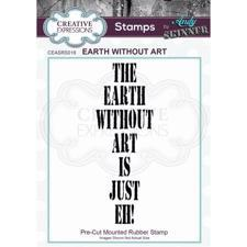 Creative Expressions Cling Stamp - Andy Skinner / Earth Without Art