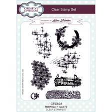 Creative Expressions  Clear Stamp Set - Midnight Waltz