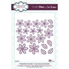 Creative Expressions  Die - Finishing Touches Collection / Faux Quilled Blooms