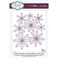 Creative Expressions  Die - Finishing Touches Collection / Delicate Daisies Open Petal