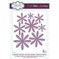 Creative Expressions  Die - Finishing Touches Collection / Delicate Daisies Complete Petal