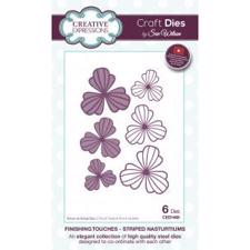Creative Expressions  Die - Finishing Touches Collection / Striped Nasturtiums