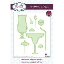 Creative Expressions  Die - Californian Collection / Cocktail Glasses