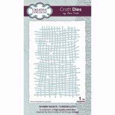 Creative Expressions / Creative Expressions / Sam Poole Die - Shabby Basics / Cheesecloth