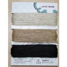 Jute Twine - Antique White / Natural / Black