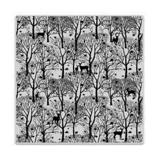 Hero Arts Cling Stamp - Bold Prints / Forest and Deer