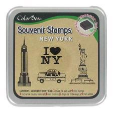 ColorBox Souvenir Stamp Set + Ink - New York