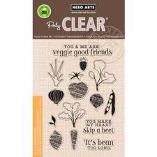 Hero Arts Clear Stamp Set - Stamp Your Own Salad