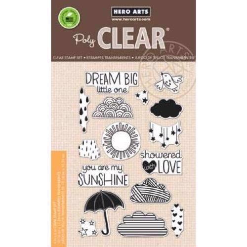 Hero Arts Clear Stamp Set - Sun Showers