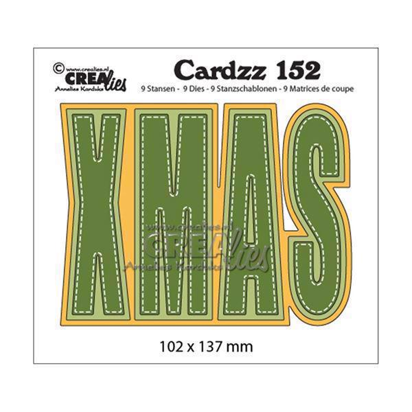 CREAlies Cardzz Die Set no. 152 - XMAS