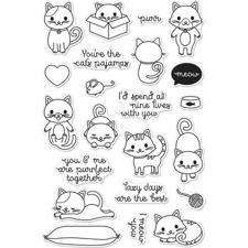 Hero Arts Clear Stamp Set - Purr (katte)