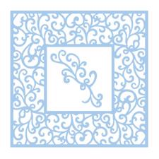Couture Creations  Die - Elegant Card Vierge Square