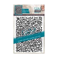 Coosa Crafts Embossing Folder - Spaghetti