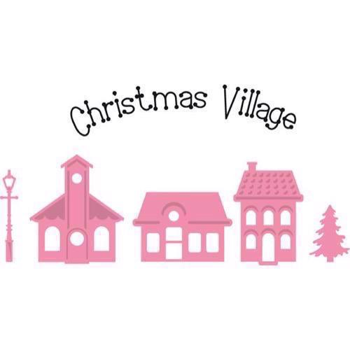 Collectables (Dies + Stempel) - Christmas Mini Village