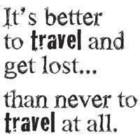 Cling Stamp - Better Travel