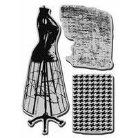 Stampendous Cling Stamp - Dress Form