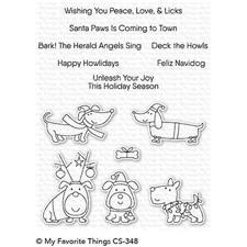My Favourite Things Stamp Set - Deck the Howls