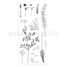 Alexandra Renke Clear Stamps - Grasses / With Love