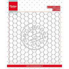 Marianne Design Clear Stamp  - Background / Chickenwire