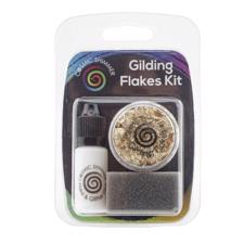 Cosmic Shimmer Gilding Flakes - KIT / Golden Jewels (sæt)