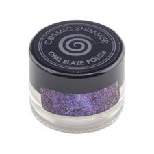 Cosmic Shimmer Opal Blaze Polish - Sapphire Grape