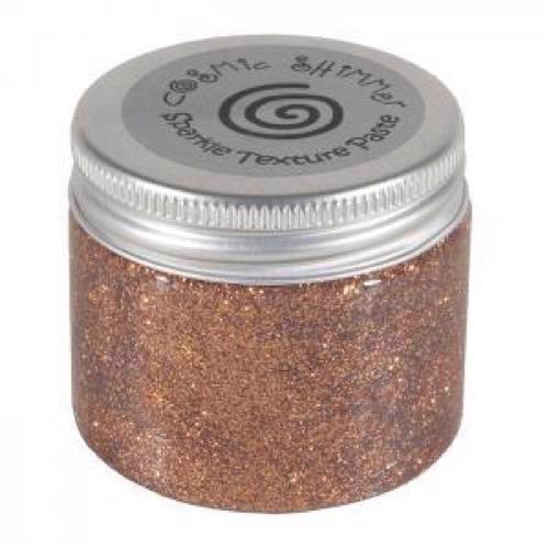 Cosmic Shimmer Sparkle Texture Paste - Penny Copper