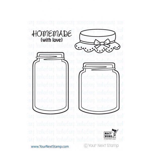 Your Next Stamp - Mason Jars