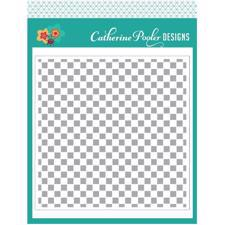 Catherine Pooler Stencil - Checkerboard