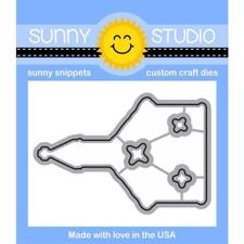 Sunny Studio Stamps - DIES / Christmas Chapel