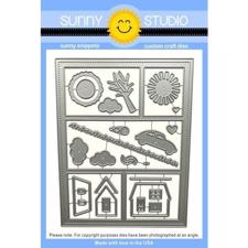 Sunny Studio Stamps - DIES / Comic Strip Everyday