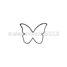 Alexandra Renke DIE - Butterfly without antenna