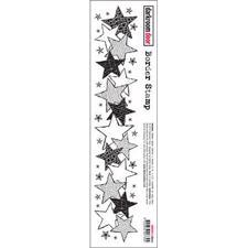 Darkroom Door Stamp - Border Stamp / Stars