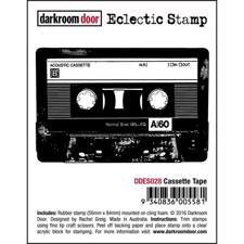 Darkroom Door Cling Stamp - Cassette Tape