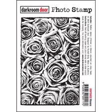 Darkroom Door Stamp - Photo Stamp / Roses
